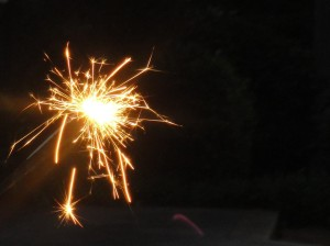 It was no Sandcliffs fireworks show, but at least we had something!!!
